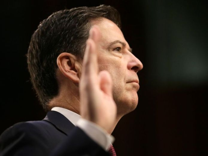 Former FBI Director James Comey is sworn in before testifying  James Comey and FBI criticised by watchdog over Hillary Clinton emails James Comey and FBI criticised by watchdog over Hillary Clinton emails cf54616db67c52d010c0b4a97d2c5e9f0ef486435c27793bf1a4648782a3625b 3973479