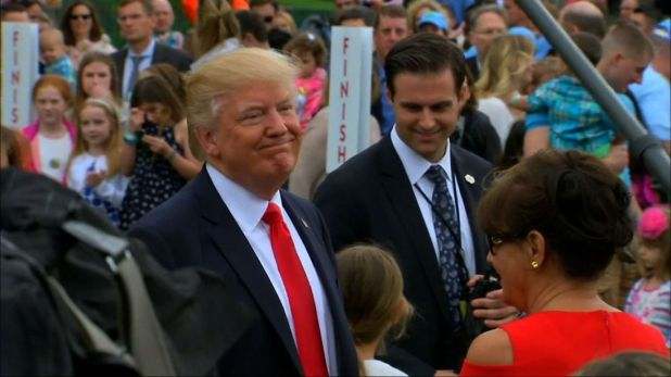 "President Trump warns North Korea to ""behave"""
