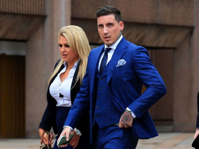 Reality TV star Jeremy McConnell outside Liverpool magistrates Court where he is to be sentenced for assaulting ex-girlfriend Stephanie Davis. PRESS ASSOCIATION Photo. Picture date: Friday August 11, 2017. He was found guilty on Monday of attacking the former Hollyoaks actress at her home in Rainhill, Merseyside, on March 10. See PA story COURTS McConnell. Photo credit should read: Peter Byrne/PA Wire Jeremy McConnell spared jail after assault on ex Stephanie Davis Jeremy McConnell spared jail after assault on ex Stephanie Davis 9fbf7aae3497695fe61413dec0c903822b61bc2a59d55c16872145f2839f3554 4071204