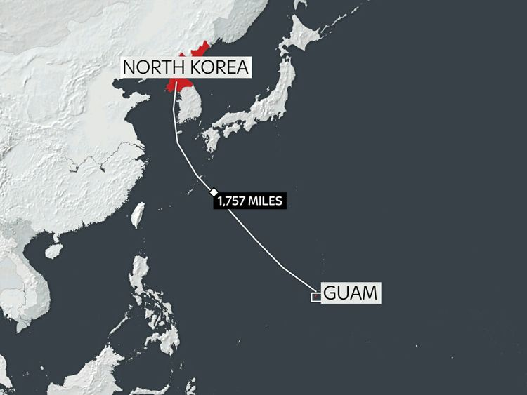 Why is North Korea threatening to strike Guam with missiles