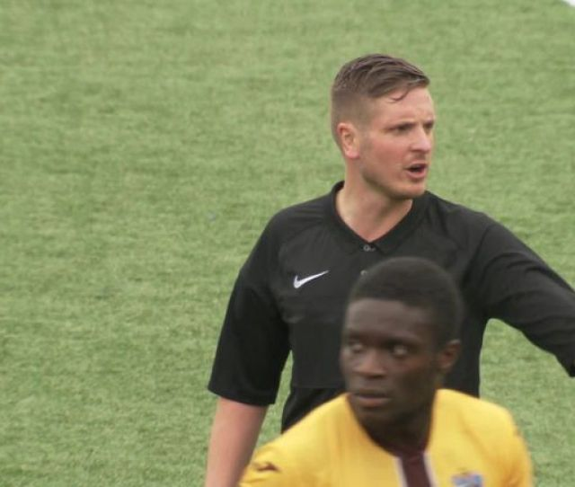 British Footballs First Out Gay Ref