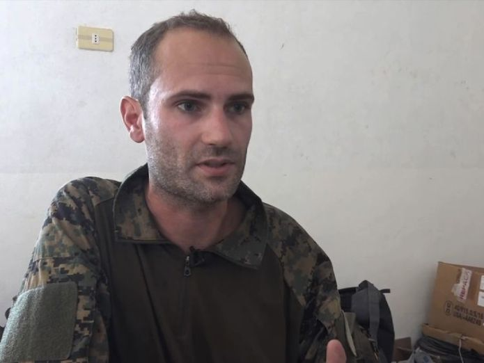 Macer Gifford is 30 and from Cambridge but went to join kurdish forces fighting IS in Raqqa We're 'working with US' to bring IS 'Beatles' to justice We're 'working with US' to bring IS 'Beatles' to justice 26a78fff70bd321f8d5d73b49629b13dcc4546ee3d4cd729c0dade8bcd81f876 4110549