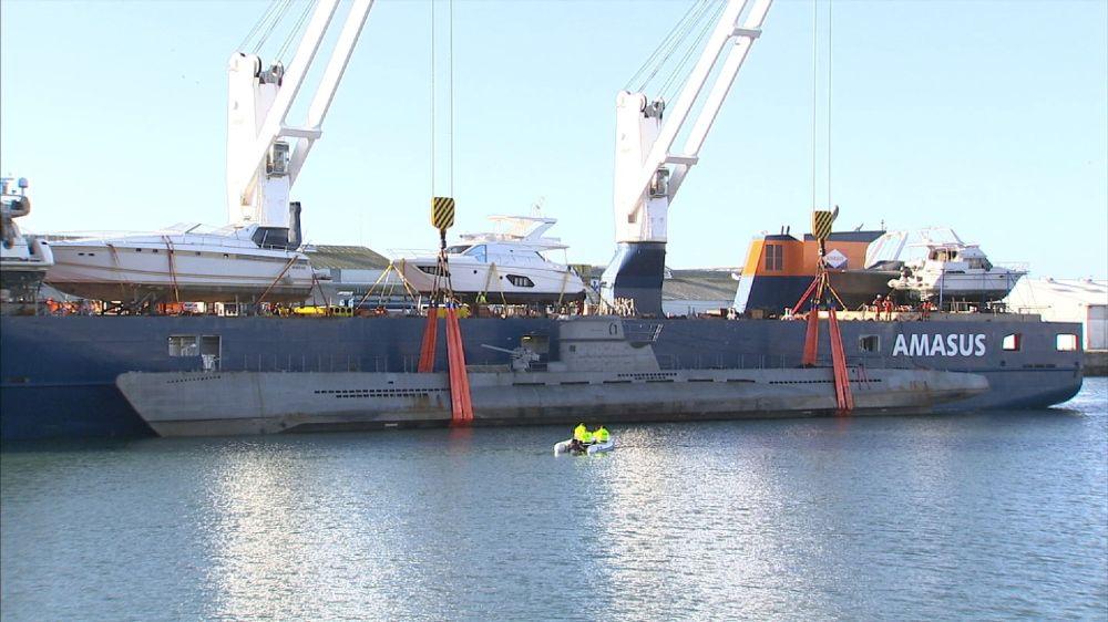 medium resolution of german u boat real star of new second world war drama