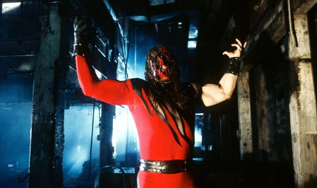 what are wwe chairs made of wooden rocking chair mission style tables ladders and to be shown live on sky sports box kane will step into a ring for the first time in 10 months sunday night as part colossal collision at