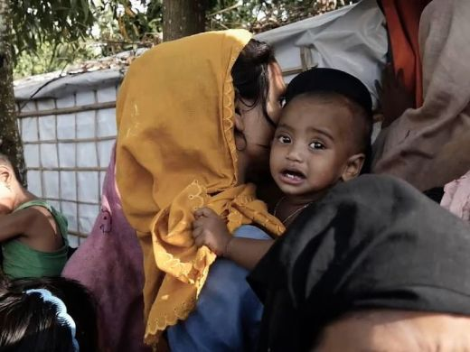 Doctors are treating a range of serious illnesses in Rohingya children in Bangladesh's Kutupulong refugee camp