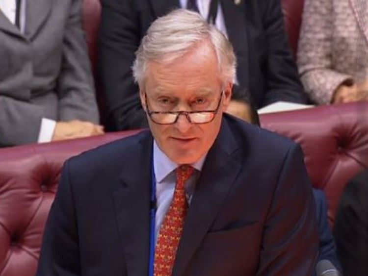 Lord Ashton of Hyde Pic: Parliament.TV