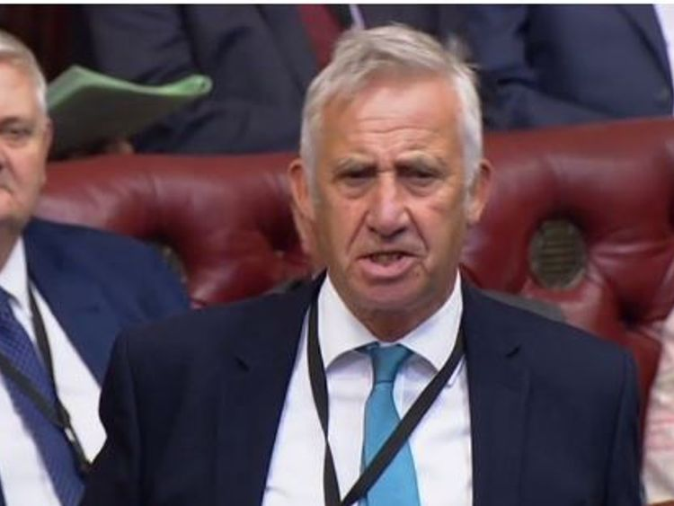 Lord Storey Pic: Parliament.TV