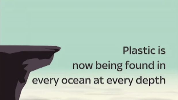 Plastic waste has been found at all depths in our oceans