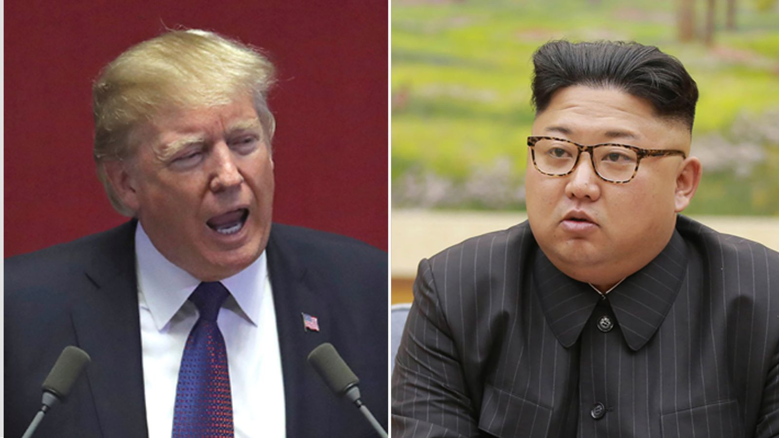 donald trump again rejects conclusions on north korea time - HD1600×900