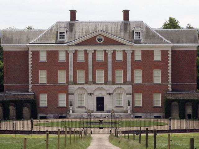 A path leads to Chevening House, the country house which is an official residence of the British Foreign Secretary on May 31, 2006 in Kent, England.