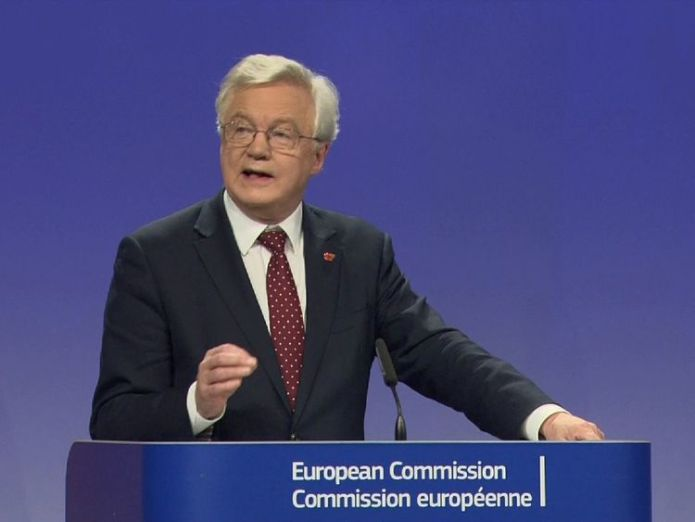 David Davis Dutch activate 'hard Brexit' plan and blame 'a lack of clarity' from the UK Dutch activate 'hard Brexit' plan and blame 'a lack of clarity' from the UK skynews david davis brexit 4151906