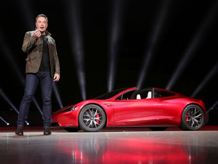 Elon Musk Tesla shares plummet as Musk calls analyst 'boring bonehead' for asking about record net loss Tesla shares plummet as Musk calls analyst 'boring bonehead' for asking about record net loss elon musk spacex tesla sky news 4176369