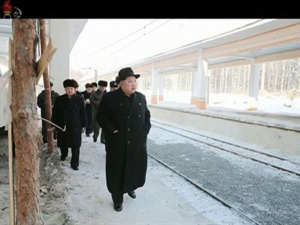 He went up to the mountain with his aides after conducting the 'great event'
