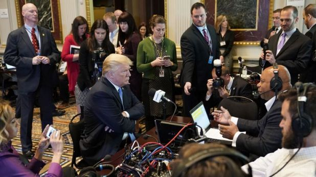 Trump's attitude to most media has been far from warm