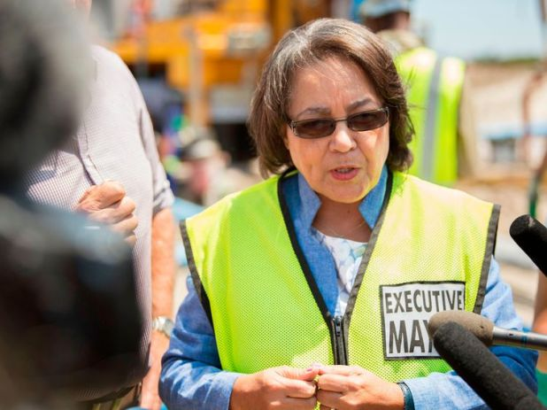 Cape Town City Mayor Patricia de Lille
