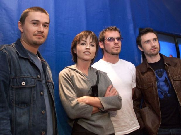 The Cranberries in 2002