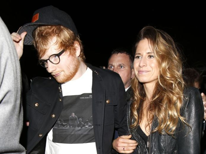 Ed Sheeran and Cherry Seaborn Has Ed Sheeran already got married? Silver band on ring finger sparks speculation Has Ed Sheeran already got married? Silver band on ring finger sparks speculation skynews ed sheeran cherry seaborn 4210110