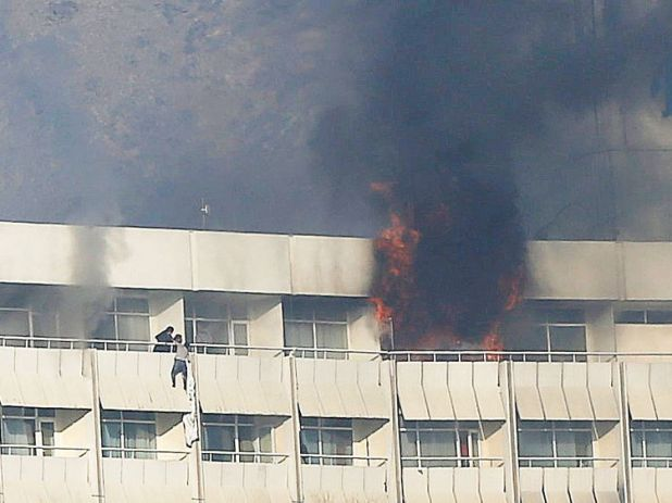 Attack on Intercontinental Hotel in Kabul