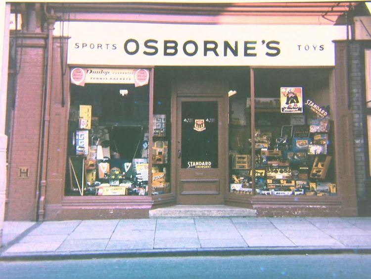 Osborne's in Rushden, when it first stocked Lego