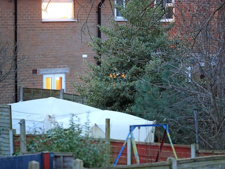 Police found the remains in a garden of a house in Reddish, near Stockport