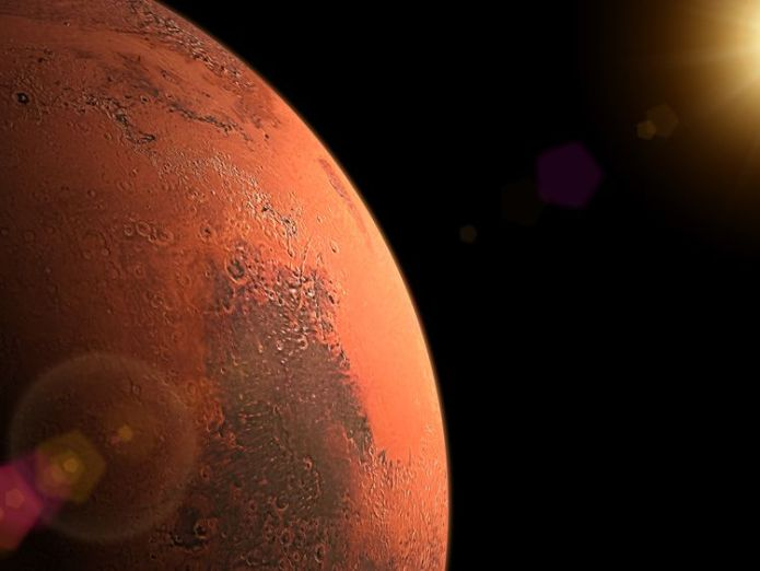 Mars sunrise  'Impossible' to make Mars like Earth with current technology skynews mars space sunrise 4209550