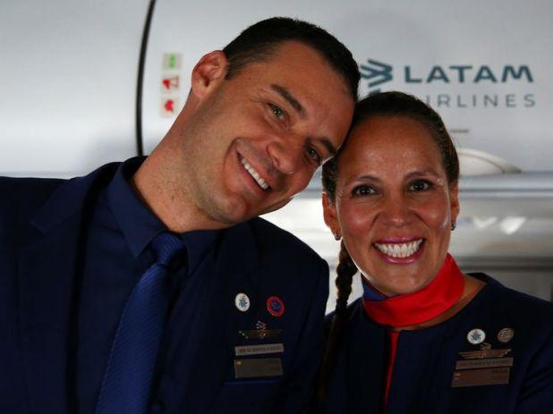 Paula Podest and Carlos Ciufffardi