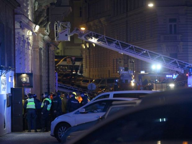 Two people died in the Prague fire