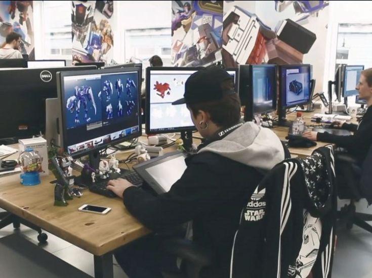 Designers in the Space Ape studio
