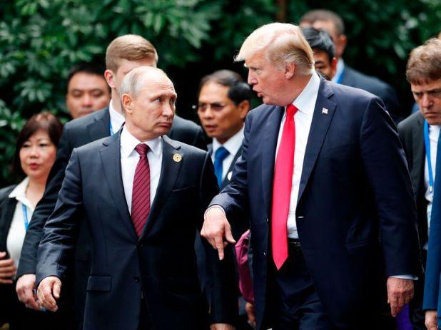 Mr Putin said was 'ready to take retaliatory steps'