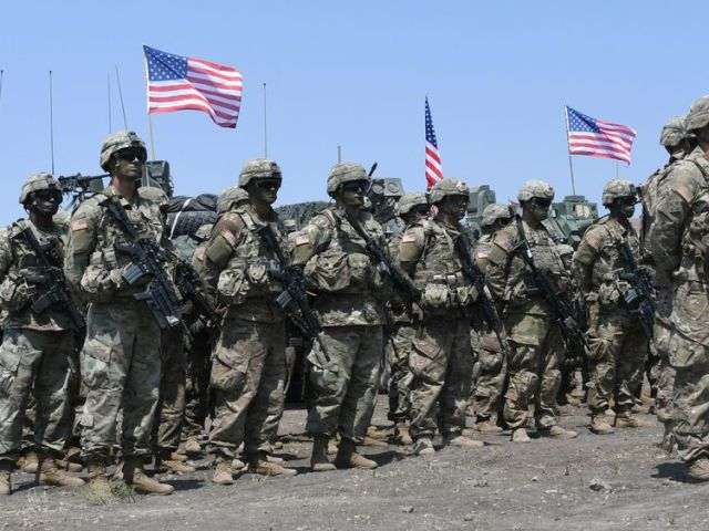 US soldiers won't be getting paid until the politicians reach a deal