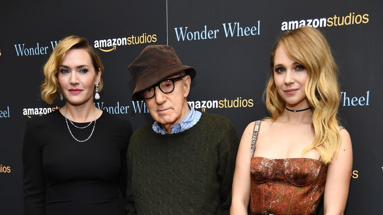 Kate Winslet and, Woody Allen worked together on Wonder Wheel