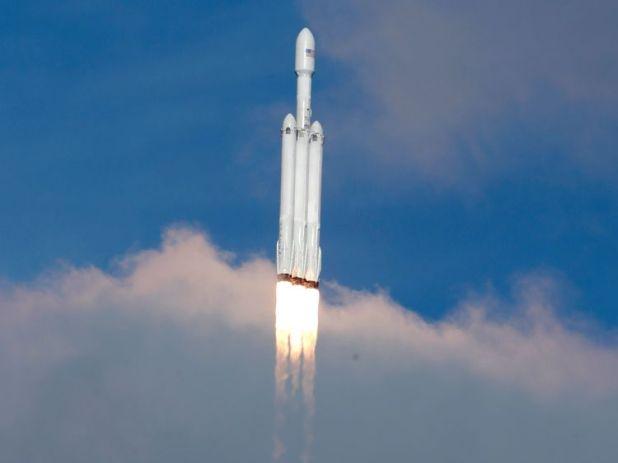 falcon heavy rocket spacex