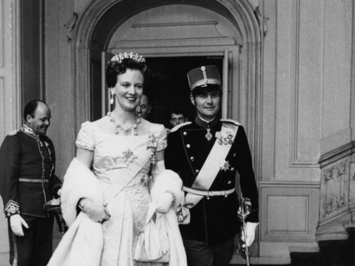Queen Margrethe and Prince Henrik in 1973 Danish prince denied title of King dies aged 83 Danish prince denied title of King dies aged 83 2371802140107225607 4230937