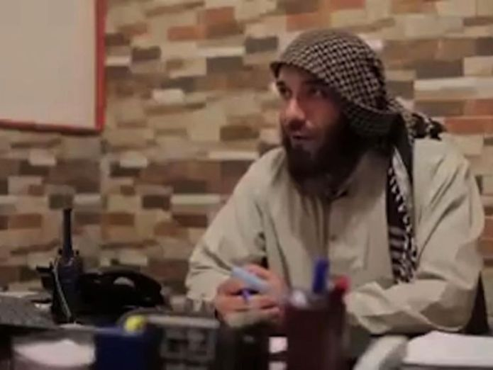 An ISIS fighter before he defected, in a Crawford package Islamic State's former 'Prince of Police' in Raqqa warns terrorists planning new attacks Islamic State's former 'Prince of Police' in Raqqa warns terrorists planning new attacks skynews abu saqr isis 4232777