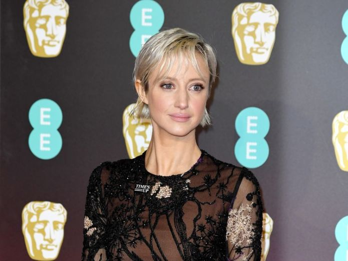 Andrea Riseborough wanted to highlight diversity issues BAFTA Awards go black for Time's Up and #MeToo BAFTA Awards go black for Time's Up and #MeToo skynews andrea riseborough 4234862