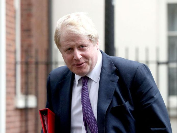 Boris Johnson West 'shouldn't stand by' over Syria gas attack in eastern Ghouta West 'shouldn't stand by' over Syria gas attack in eastern Ghouta skynews boris johnson boris johnson mp 4241740