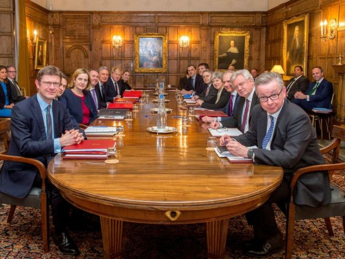 Cabinet ministers met at Chequers to thrash out a Brexit strategy  The Chequers challenge: Mixing business and politics skynews chequers uk cabinet 4238275