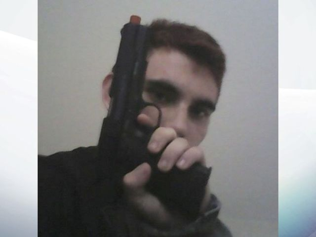 The suspect posed for guns on social media Pic:Instagram/cruz.nikolaus