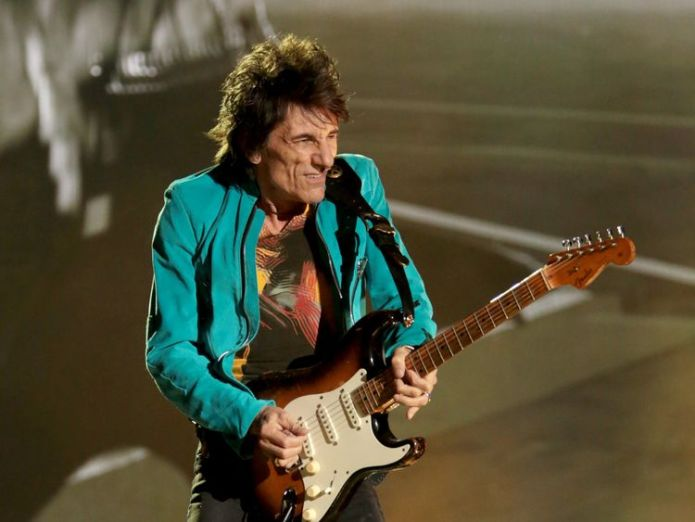 Ronnie Wood ronnie wood on cancer, kids and the 'unstoppable energy' of the rolling stones Ronnie Wood on cancer, kids and the 'unstoppable energy' of The Rolling Stones skynews ronnie wood rolling stones 4242795