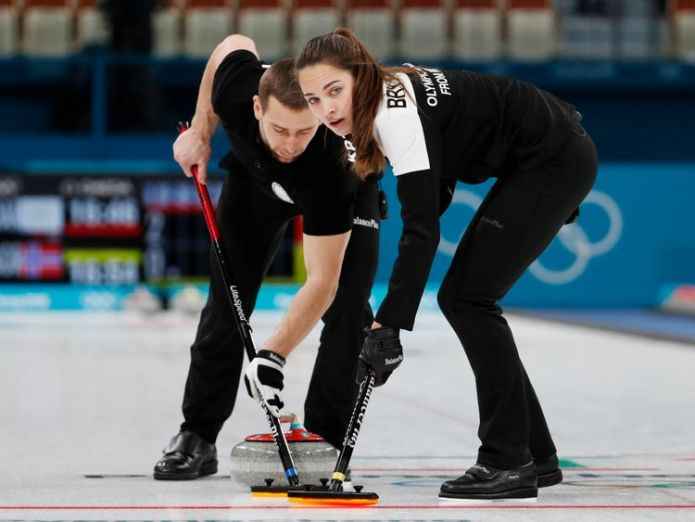 Alexander Krushelnitsky and Anastasia Bryzgalova in action in the mixed doubles bronze medal match alexander krushelnitsky's second sample tests positive for meldonium Alexander Krushelnitsky's second sample tests positive for meldonium skynews russia alexander krushelnitsky 4236071