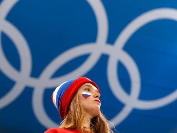 Russian fan at Pyeongchang 2018 Winter Olympics IOC decides not to lift Russian ban at Winter Olympics IOC decides not to lift Russian ban at Winter Olympics skynews russia fan russian 4240323