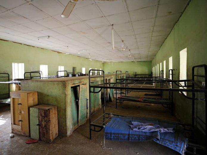 Where some of the girls in the school slept Over 100 girls missing after Boko Haram attack in Nigeria Over 100 girls missing after Boko Haram attack in Nigeria skynews school nigeria boko haram 4240834