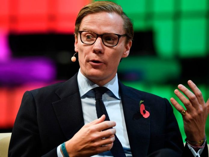 Cambridge Analytica chief Alexander Nix Facebook data breach firm Cambridge Analytica shutting down Facebook data breach firm Cambridge Analytica shutting down skynews alexander nix cambridge analytica 4258649