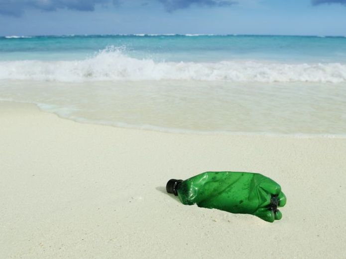 There are over 150 million tonnes of plastic in the world's oceans eu proposes bloc-wide ban on single-use plastics EU proposes bloc-wide ban on single-use plastics skynews bottle litter marine 4267263
