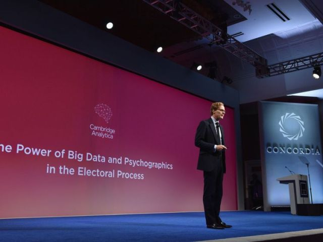 Cambridge Analytica CEO Alexander Nix