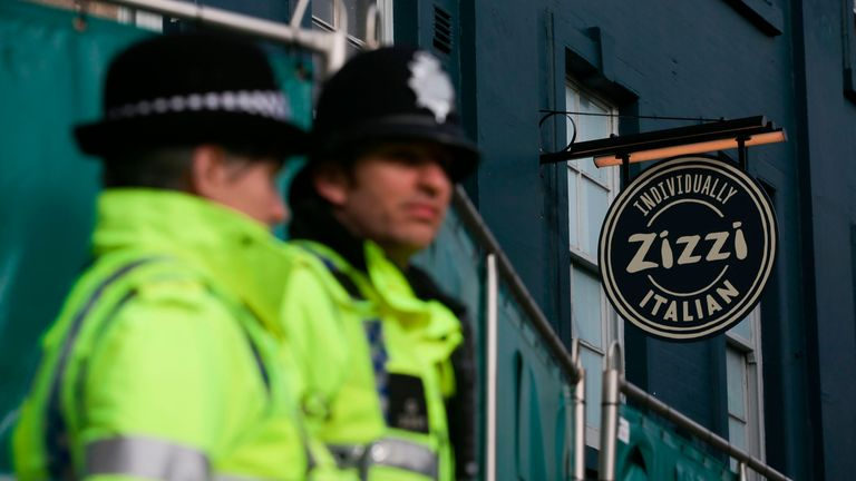 Traces of a nerve agent were also found at Salisbury's Zizzi restaurant