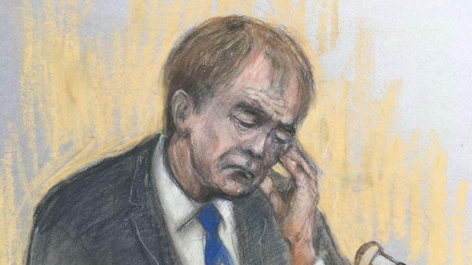 Cliff Richard broke down in court