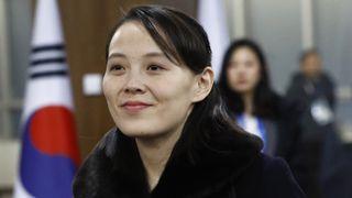 Kim Yo Jong, sister of North Korean leader Kim Jong Un, arrives at the opening ceremony of the PyeongChang 2018 Winter Olympic Games