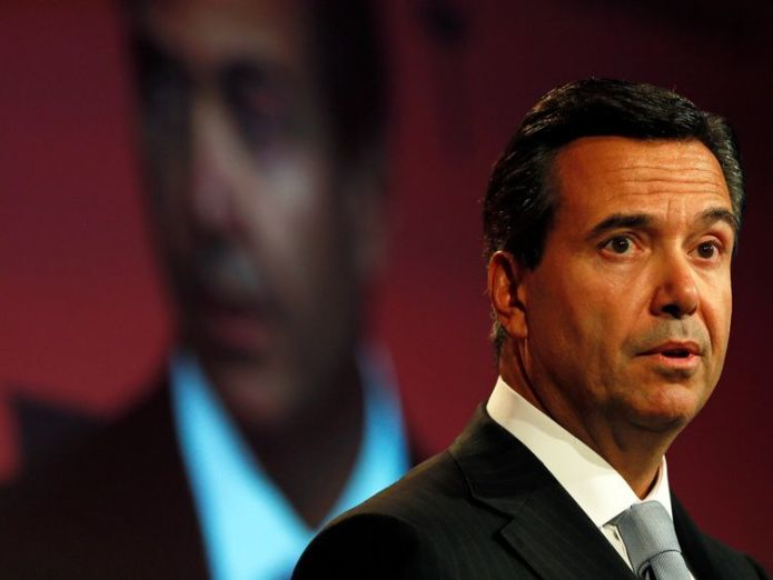 Antonio Horta-Osorio is the chief executive of Lloyds Banking Group Noel Edmonds told 'this isn't a show' as he gatecrashes Lloyds AGM Noel Edmonds told 'this isn't a show' as he gatecrashes Lloyds AGM skynews antonio horta osorio 4285309