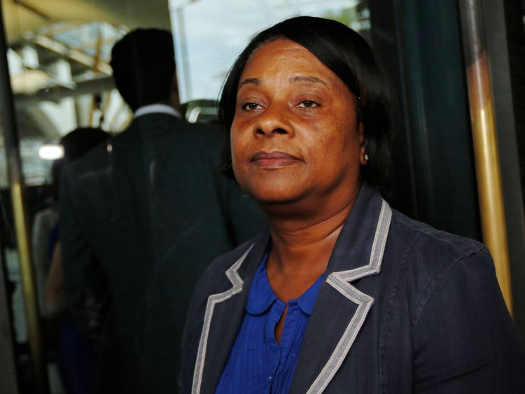 Doreen Lawrence is now a baroness